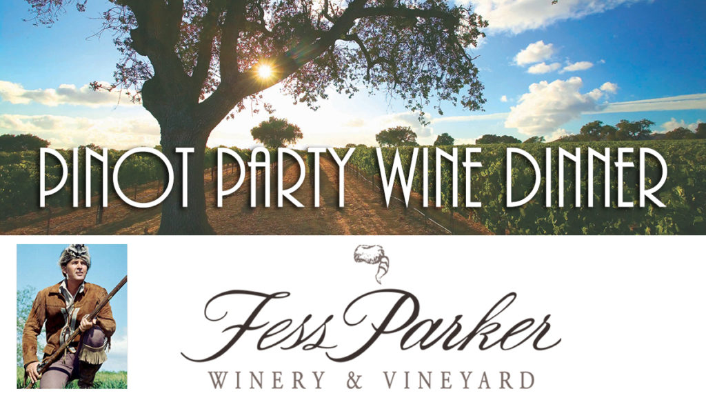 Pinot Party Wine Dinner
