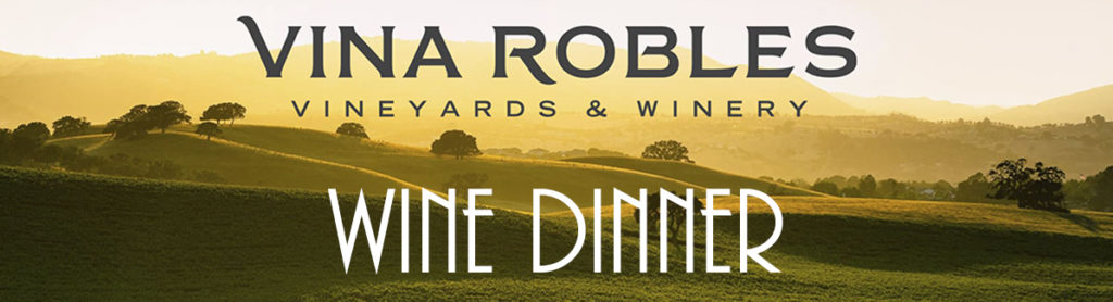 Vina Robles Wine Dinner @ Cellars Bar and Grill